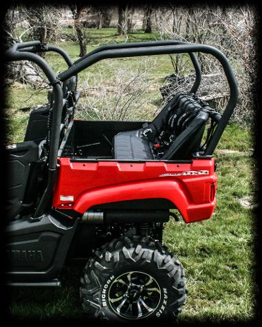 Utvma Back Seat And Roll Cage Kit For Yamaha Viking