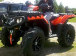 M12 Diesel on a Polaris Sportsman