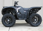 MSA Diesel rims on a Yamaha Grizzly