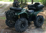 MSA M20 Rims on a Yamaha Grizzly