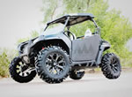 Polaris RZR with Kore Rims and Moto MTC Tires