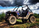 MSA Kore Wheels on a Polaris RZR