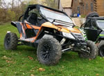 Black M20 Kore ATV Wheels