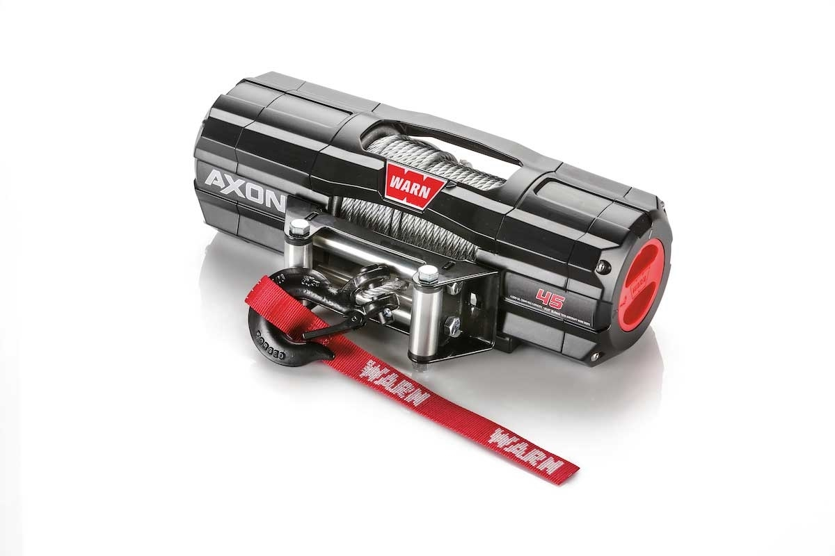 Warn Axon 4 500 Lb Winch With Wire Rope