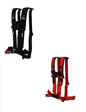 DragonFire H-Style 4-Point 2 Inch Harness