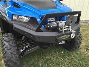 EMP Front Brush Guard with Winch Mount for Polaris General 1000