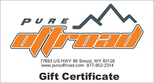 Pure Offroad Gift Certificate