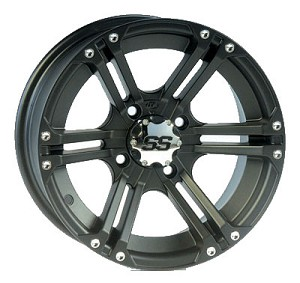 "ITP SS212 ATV Wheels - 12"" Black"