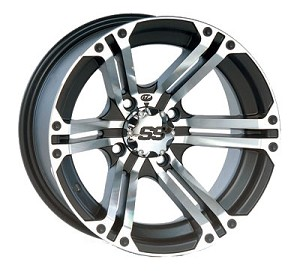"ITP SS212 ATV Wheels - 15"" Machined"