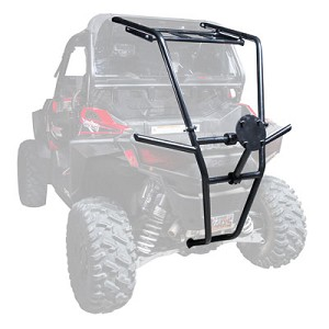 Tusk Rear Bumper with Cargo Rack and Spare Tire Carrier for Polaris RZR 900 2015+