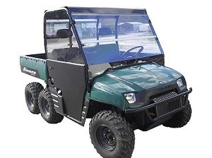 Full Windshield (Clear or Tinted) for (02-08) Polaris Ranger by Dot Weld