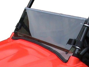 Fold Down Windshield (Clear or Tinted) for Polaris RZR Mini 170 by Dot Weld