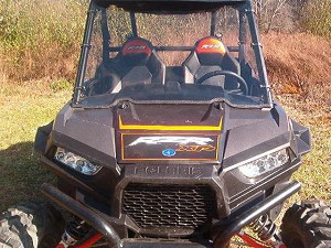 Full Windshield (Clear or Tinted) for Polaris RZR XP1000 / RZR 900 / XP Turbo by Dot Weld