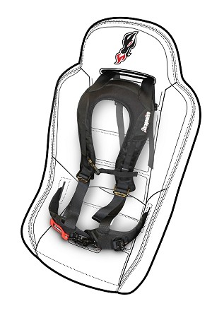 DragonFire Black EVO Harness