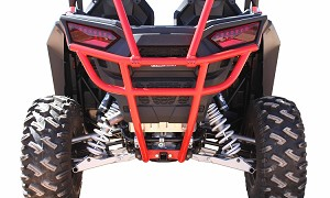 Dragonfire RacePace Rear Smash Bumper for 2015+ Polaris RZR 900 Models