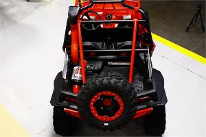 Dragonfire RacePace Spare Tire Carrier for Polaris RZR XP 4 900 (11-14)