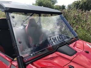 EMP Hard Coated Full Windshield with Vent for Honda Talon