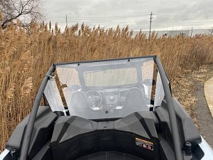 EMP Hard Coated Polycarbonate Rear Windshield/Cab Back for Kawasaki Teryx KRX 1000