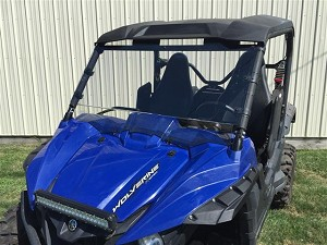 EMP Scratch Resistant Full Windshield for Yamaha Wolverine