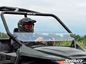 Super ATV Half Windshield for Arctic Cat Wildcat Trail / Sport