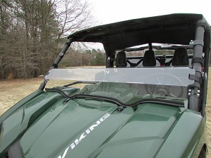 Seizmik Half Windshield for Yamaha Viking