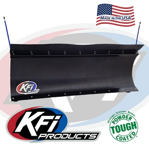 KFI Pro-Poly Straight Blade 66 Inch Snow Plow (Complete Kit) for Kawasaki Teryx