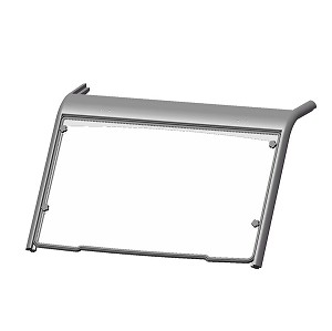 Kolpin Full Fixed Scratch Resistant Windshield for Can-Am Defender