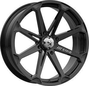 MSA M12 Diesel Rims, 20 inch Black (with optional mounted tires)