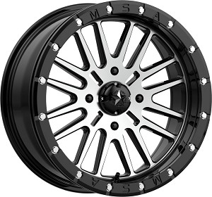 MSA M37 Brute Beadlock 18 Inch Wheels (with optional mounted tires)