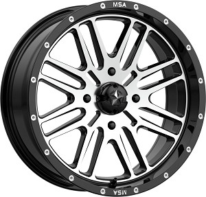 MSA M38 Brute 18 Inch Wheels (with optional mounted tires)