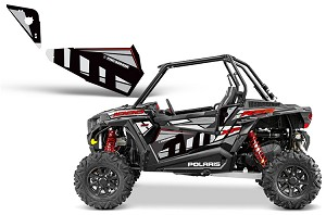 Pro Armor 2014 Black Pearl Door Insert Graphic Kit for RZR XP 1000