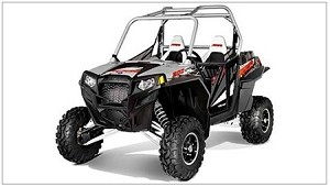 Pro Armor 2012 Polaris RZR XP 900 Liquid Silver Graphic Kit