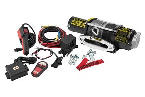 Quadboss 5,000 lb. Winch with Dyneema Synthetic Rope