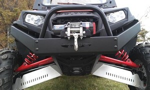 EMP Extreme RZR XP900 Front Bumper w/Winch Mount