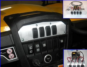 Can-Am Commander Command Center with Fuse Block by EMP