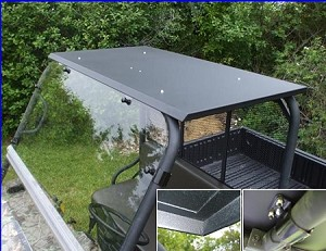 EMP Hard Top with dome light for Kawasaki Mule (3000/3010/4000&4010)