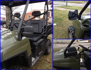 EMP Folding Mirror Set for Ranger and Rzr