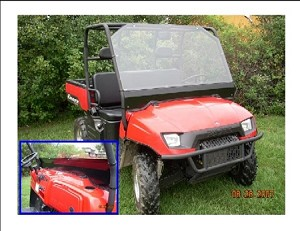 EMP Polaris Ranger 02-08 Full Windshield
