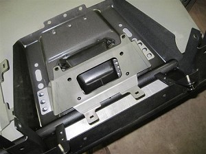 EMP Mid Size Ranger Winch Mounting Plate