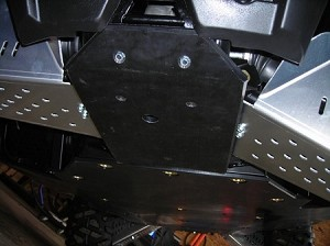 EMP Cooter Brown Full Belly Skid Plates for RZR