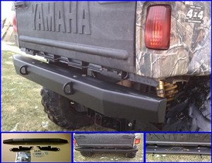 Extreme Metal Products Yamaha Rhino HD Rear Bumper