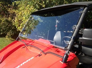 Extreme Metal Products Yamaha Viking Full Windshield