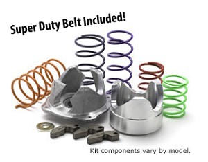 "EPI Sport Utility Clutch Kit w/ Super Duty Belt for Polaris ATV - 27""-28"" Tire, 0-3000' Elev"