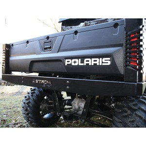 J Strong Rear Bumper with Light Guards for Polaris Ranger