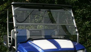 J Strong Fold Down Windshield for Polaris Ranger