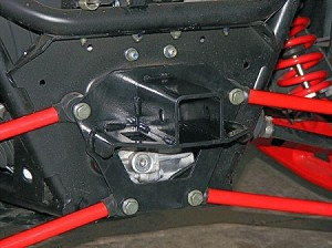 "KFI Polaris Rzr 900xp Rear 2"" Receiver Hitch"