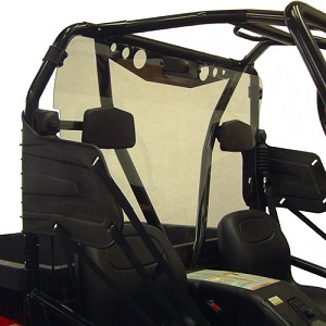 Kolpin Rear Windshield for Arctic Cat Prowler (with round tubes roll cage)