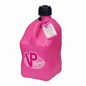 VP Racing Breast Cancer Awareness Pink Container, 5 Gallon Square