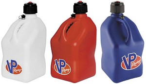 VP Racing Square Motorsport Container, 5 Gallon