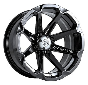 MSA M12 Diesel ATV Wheels - 14 inch Black